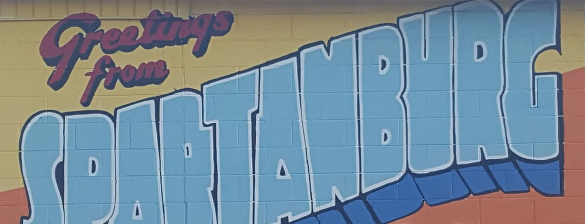 Greetings From Spartanburg, SC: A Hub City Mural Tour
