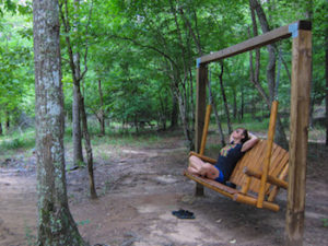 park swing in croft state park