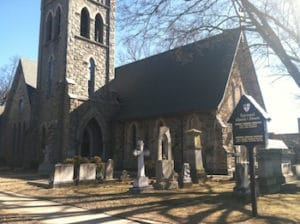 exterior of the Episcopal Church of the Advent