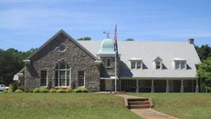 exterior of the american legion hall