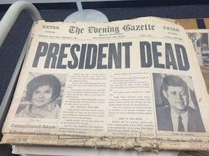 archived newspaper at USC upstate
