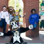 Mascots From Spartanburg County's Seven Unique Colleges and Universities