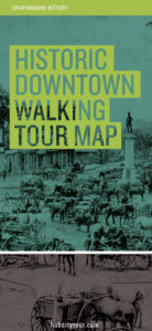 spartanburg downtown walking tour map