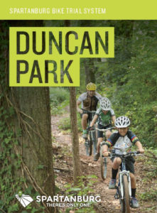 spartanburg cycling duncan park map