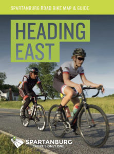 spartanburg cycling east map