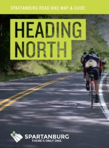 spartanburg cycling north map