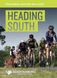 spartanburg cycling south map
