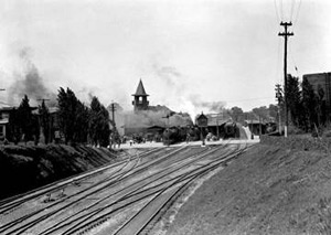 old photo of spartanburg railroads