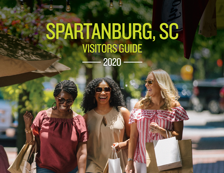 2020 Downtown Spartanburg Visitor's Guide