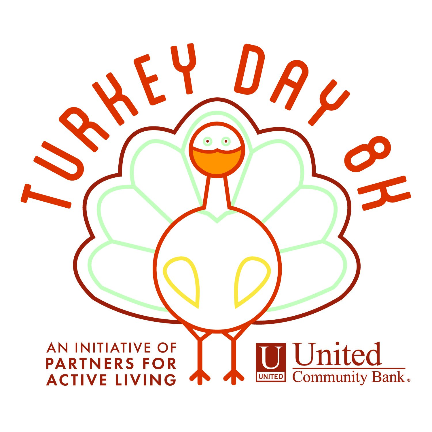 Partners for Active Living 16th Annual United Community Bank Turkey Day 8K